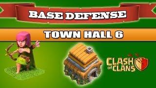 getlinkyoutube.com-Clash of Clans: i migliori 5 villaggi per Municipio livello 6 - TROFEI
