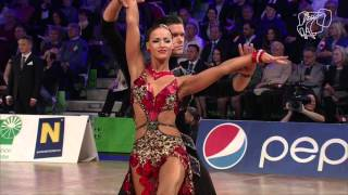 getlinkyoutube.com-2015 Vienna World Open LAT | The Semi-Final Reel | DanceSport Total