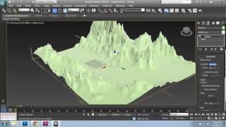 getlinkyoutube.com-Creating Mountain & Ocean Terrain in 3ds Max