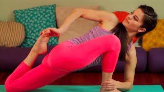 getlinkyoutube.com-60 Minute Vinyasa Yoga Class with Leigha   Level 2/3