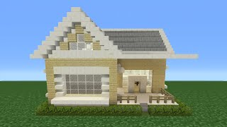 Minecraft Tutorial: How To Make A Suburban House - 3
