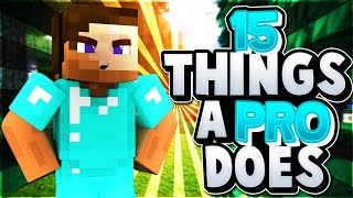 15 Things Pros Do In Minecraft
