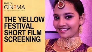 Vani Rani Fame Thenmozhi aka Neha cute speech at The Yellow Festival Short Film Screening