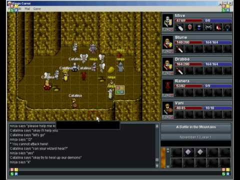 Kings curse tactical online strategy rpg