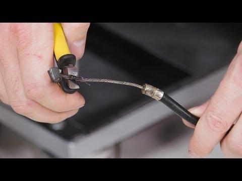 Ремонт Тросика - Repair Clutch Cable