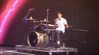 getlinkyoutube.com-Justin Bieber |  Drum Solo | Believe Tour 2012
