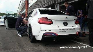 getlinkyoutube.com-BMW M235i Racing - Loud sounds at Spa