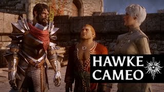 getlinkyoutube.com-Dragon Age: Inquisition - Hawke Cameo (Merrill romance, aggressive, male)
