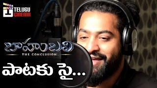 getlinkyoutube.com-Jr NTR To Sing In Baahubali 2? | Prabhas | Rana | Anushka | Tamanna | Telugu Cinema