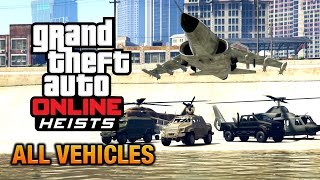 getlinkyoutube.com-GTA Online Heists - All Vehicles