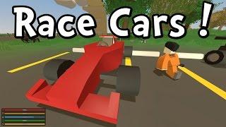 getlinkyoutube.com-UNTURNED - RACE CAR! TAXI! BUS! QUAD!  (Gameplay Playthrough 1080p)