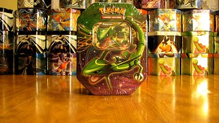 getlinkyoutube.com-30 Pokemon Tin Opening:  Rayquaza EX