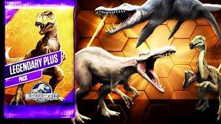 getlinkyoutube.com-Jurassic World - New Legendary Plus Pack Opening