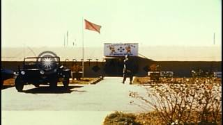getlinkyoutube.com-US 4th Infantry Division headquarters at camp Enari in Vietnam during the Vietnam...HD Stock Footage