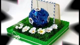getlinkyoutube.com-Букеты из конфет на заказ в Риге (2)