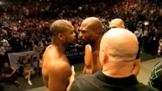 getlinkyoutube.com-WOW you love show ? CRAZY STARDOWN UFC WEIGH-IN. Stay back homie...