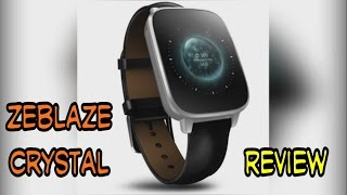 getlinkyoutube.com-Zeblaze Crystal SmartWatch - unbox and review - UI and functions
