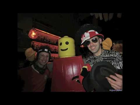 The Making Of Lego Man Costume - Purim 2012