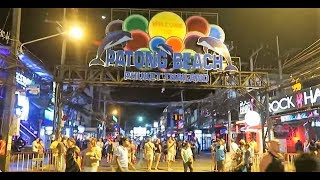 getlinkyoutube.com-PHUKET THAILAND, PATONG BEACH-BANGLA ROAD, DAY & NIGHT ! Vlog 162