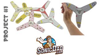getlinkyoutube.com-Indoor Boomerang - SonicDad Project #1