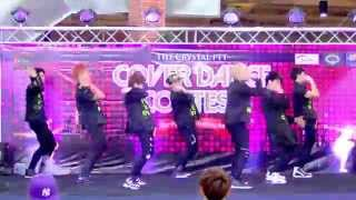 getlinkyoutube.com-150927 Nicholas cover MONSTA X - Rush + Trespass @Crystal Cover Dance Contest