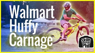 getlinkyoutube.com-Will a Walmart Huffy survive a Downhill Mountain Bike Trail?   Skills with Phil