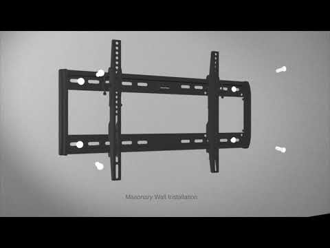 """Crest Fixed Position TV Wall Mount - 37"""" to 80"""""""