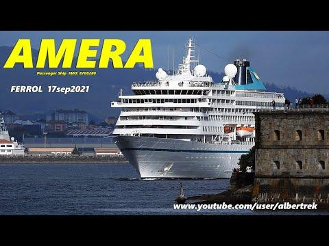 Click to view video AMERA Passenger ship FERROL 17 sep 2021