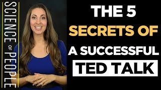 The 5 Secrets of a Successful TED Talk