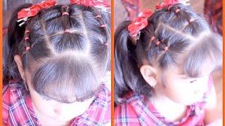 getlinkyoutube.com-Idea De Peinado Para El Regreso A Clases   Peinado Para Niña   MarceAlDescubierto