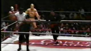 El Ninja/Kato Kung Lee/Super Astro vs. El Invasor II/Black Shadow Jr./Espanto Jr.