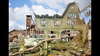 getlinkyoutube.com-Diorama Factory skirmish  - The lion´s den -  1/35 scale