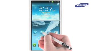 getlinkyoutube.com-Galaxy Note II - How-To-Video - Using S Pen (Cut and Paste)