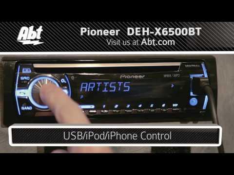 pioneer deh x6500bt wiring