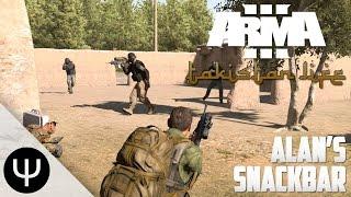 getlinkyoutube.com-ARMA 3: Takistan Life Mod — Alan's Snackbar!