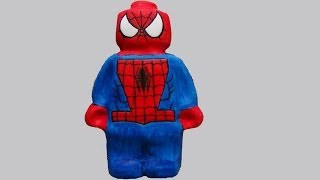 spiderman marvel hero cake