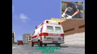 Emergency Call Ambulance - Attraction Mode SEGA 1999