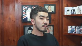 getlinkyoutube.com-넓은 M자이마 커버스타일 리젠트 댄디컷 - Regent dandy style cut