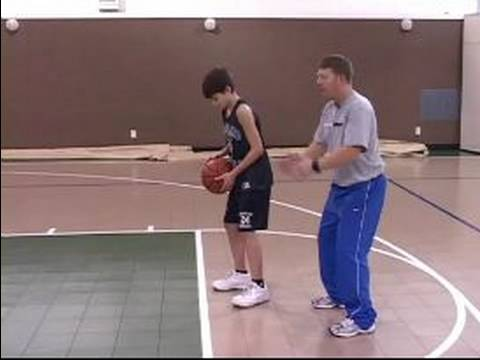 Youth Basketball Shooting Tips : Youth Basketball Free Throws: Foot Position