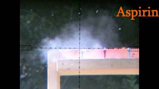 getlinkyoutube.com-Fx Wildcat .25 Air rifle Accuracy @50 yds