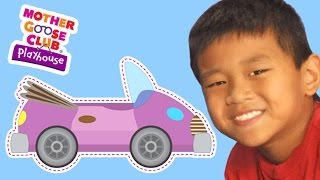 getlinkyoutube.com-The Wheels on the Bus | The Wheels on the Car | Mother Goose Club Playhouse Kids Video