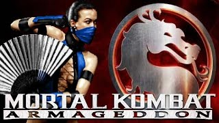 getlinkyoutube.com-Mortal Kombat Armageddon - Klassic Kitana (UMK3) Playthrough - Max Difficulty (Commentary)