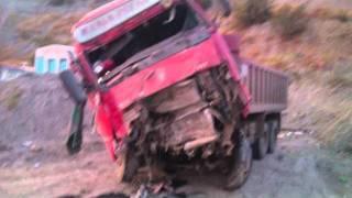 getlinkyoutube.com-χωματαδες 3 tipper truck accidents