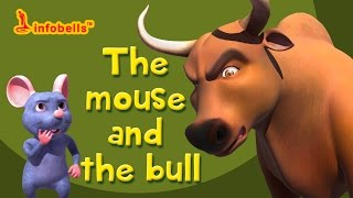 getlinkyoutube.com-Stories for Kids | The Mouse and the Bull | Infobells
