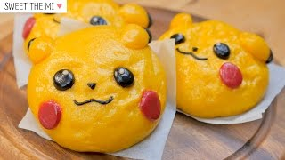 getlinkyoutube.com-Pikachu Hoppang [NO OVEN] [FOOD VIDEO] [스윗더미 . Sweet The MI]