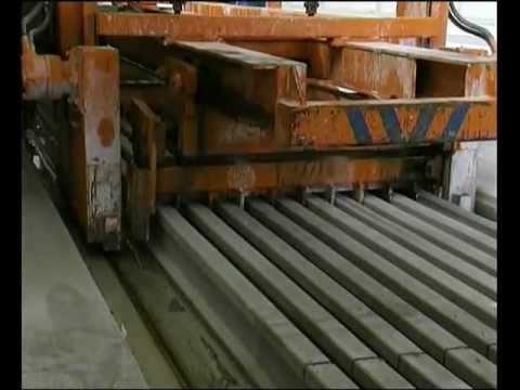 Maquina para fabricar viguetas pretensadas Tensyland (Prensoland) - Viguetas pretensadas