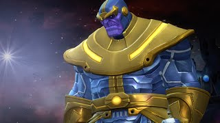 getlinkyoutube.com-Full Thanos Battle with No Heal or Revive | Marvel Contest of Champions