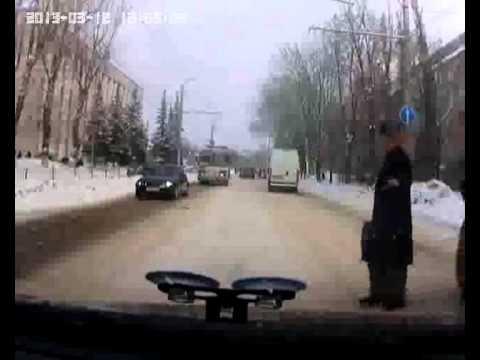 Пешеход - ты не прав! Калуга, улица Московская