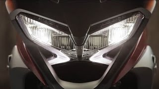 getlinkyoutube.com-The New 2015 Honda VFR800X Crossrunner - Model Features