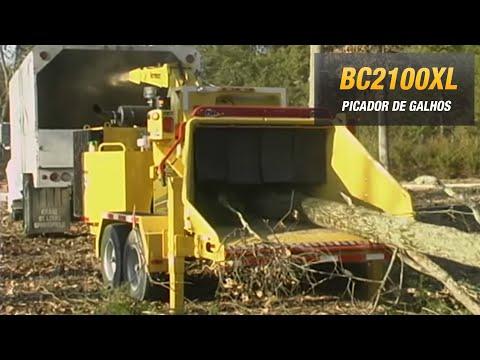 Vermeer BC2100XL triturador de madeira, arvore, tronco, picador de galhos, folhagem